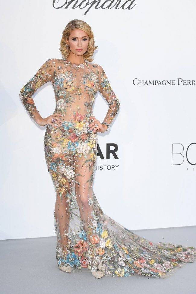 Paris Hilton at 2018 Cannes film festival
