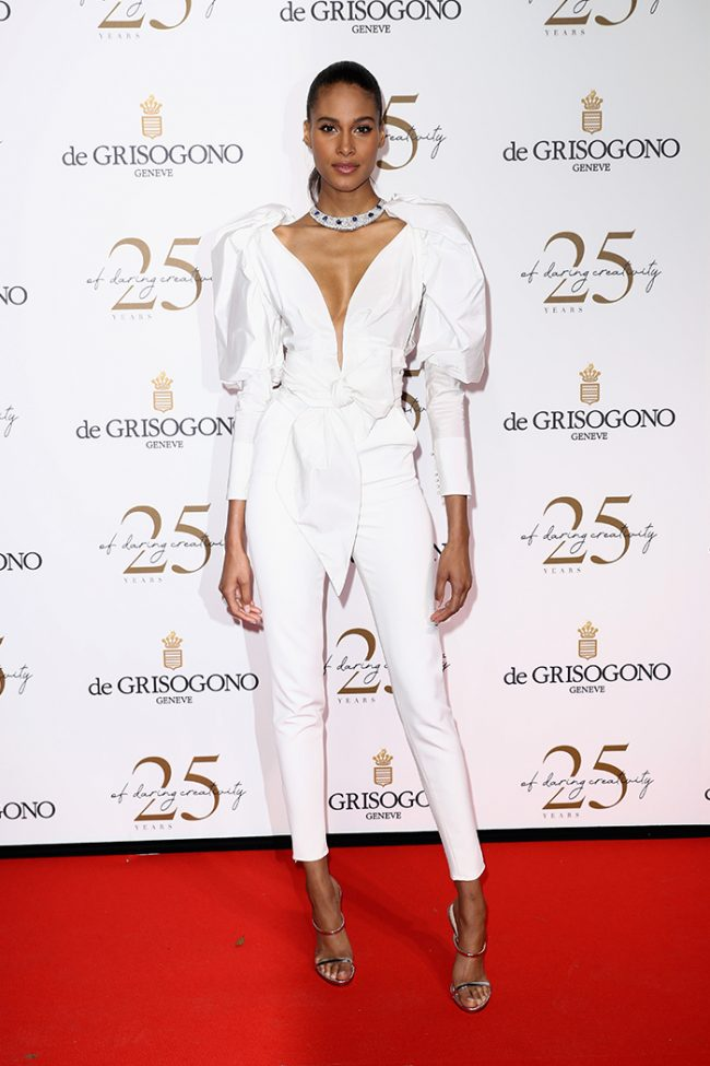 Cindy Bruna at 2018 Cannes Film Festival