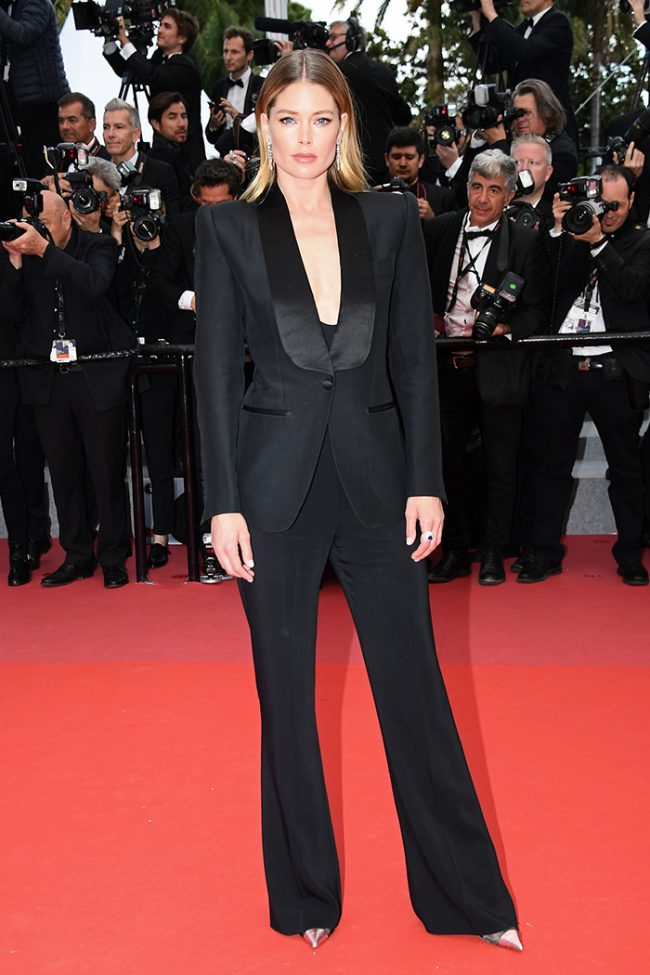 Doutzen Kroes in Tom For at 2018 Cannes FIlm Festival