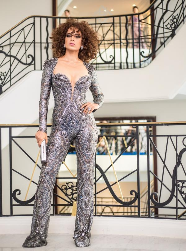 Catsuit, or pants suit, it all makes a stron statement of style; especially on Kangana Ranaut at 2018 Cannes Film Festival