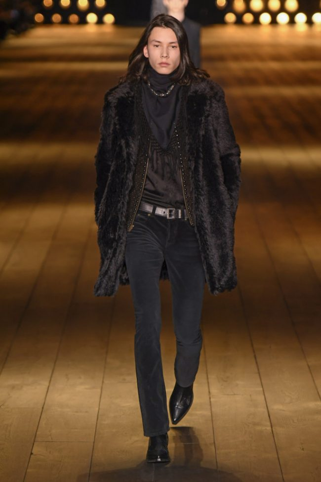 Saint Laurent RTW Fall 2018 - Paris Fashion Week
