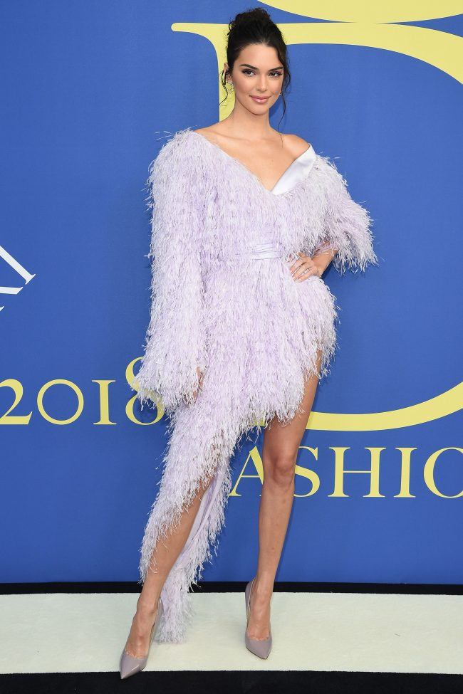 Kendall Jenner in Alexandre Vauthier Couture at 2018 CFDA Awards