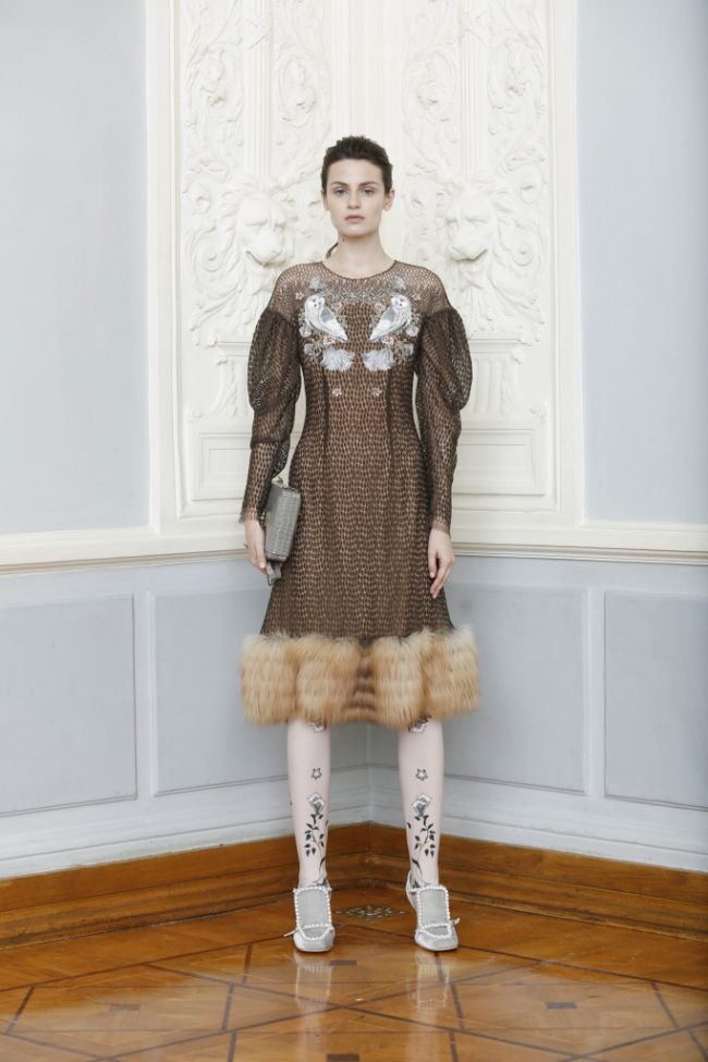Alena Akhmadullina RTW Fall 2018 - Paris Fashion Week