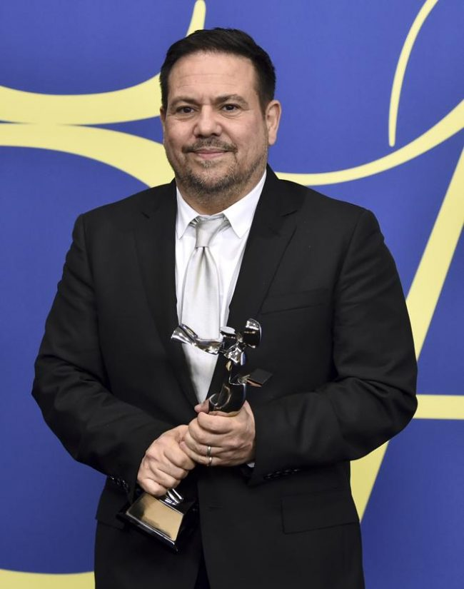 Designer Narciso Rodriguez, winner of the lifetime achievement 2018 CFDA awards