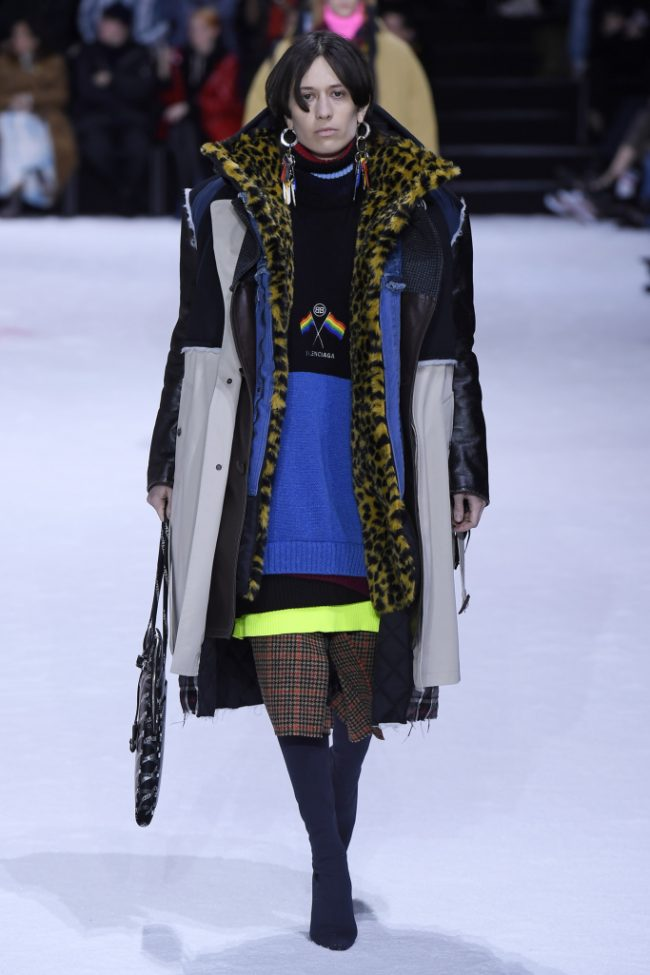 Balenciaga RTW Fall 2018 - Paris Fashion Week