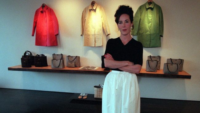 Kate Spade and Andy Spade started their handbag business in 1993