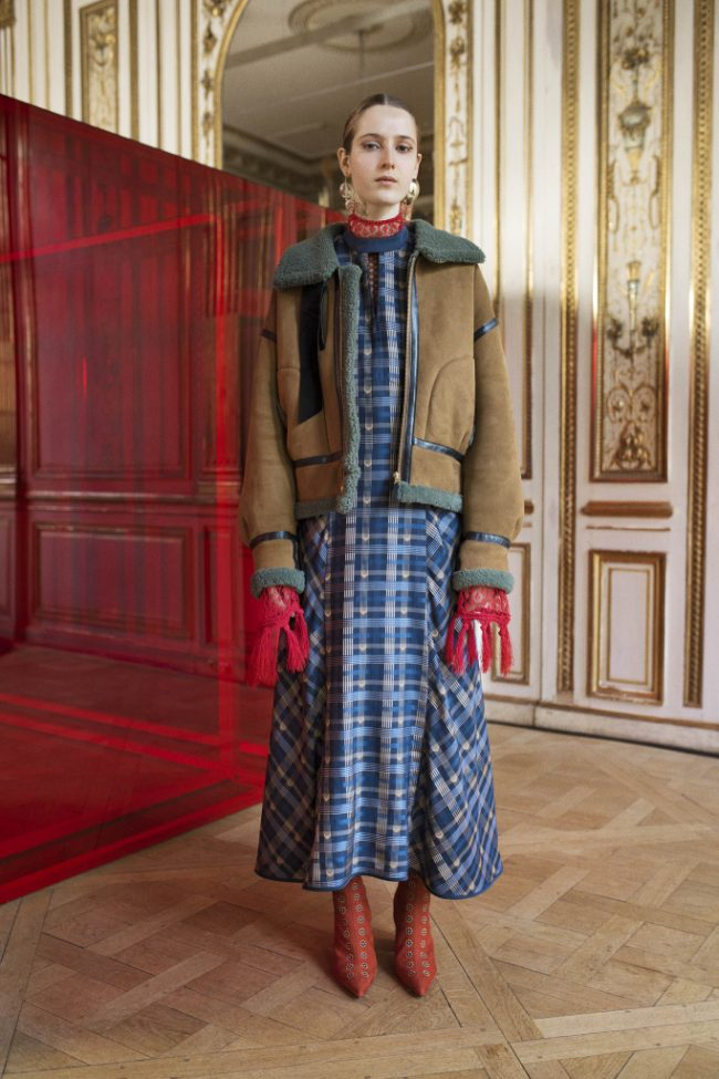 Mame Kurogouchi RTW Fall 2018 - Paris Fashion Week