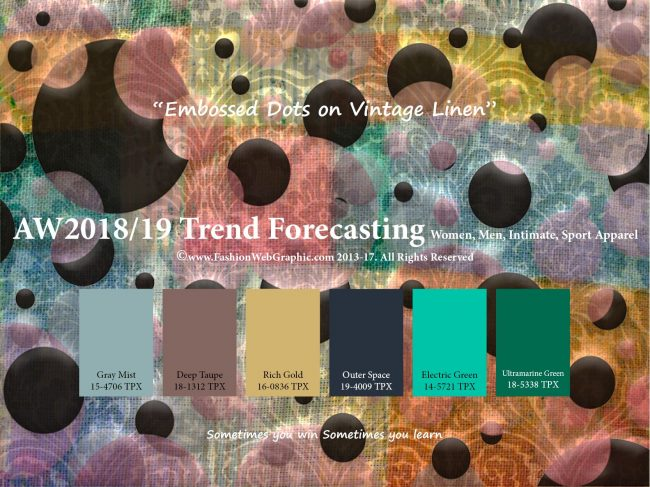 Color trends of Haute Couture Fall 2018