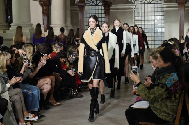 Fall 2018 Courtesy of London Fashion Week - David Koma