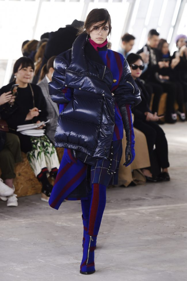 Sacai RTW Fall 2018 - Paris Fashion Week