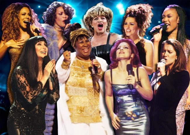 DIVA = perfectionist and that's what divas ;oke Aretha Franklin represent