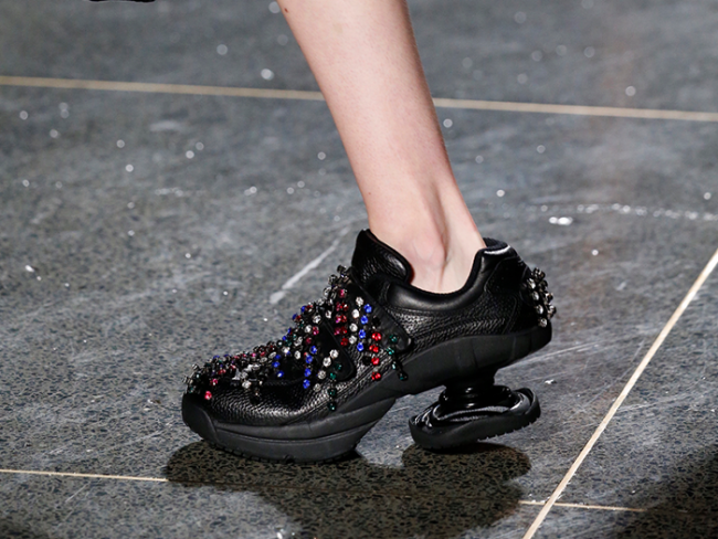 Christopher Kane Fall 2018 shoes