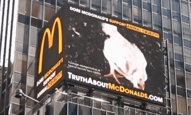 FUR Today…. Meat, Leather and Wool Tomorrow; they say. Just check out the recent billboards in New York's Times Square targeting Mc Donalds.  Help stop harmful fur bans and the war on fashion