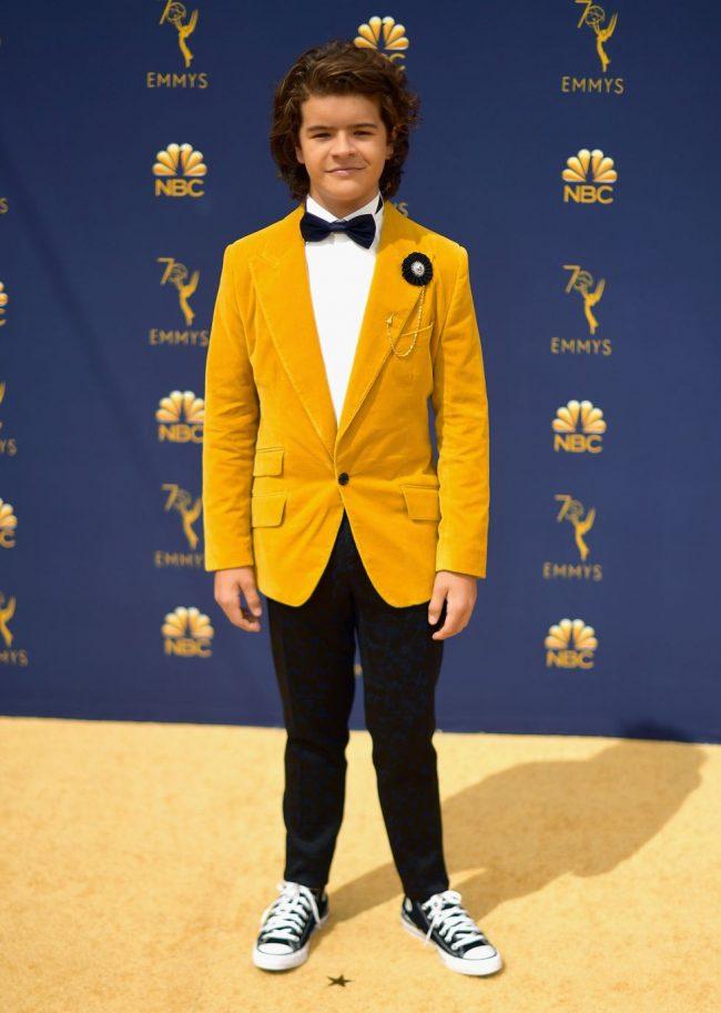 Gaten Matarazzo at the 2018 Emmy Awards