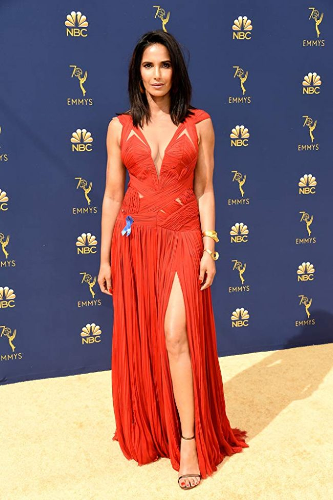 Padma Lakshmi at the 2018 Emmy Awards