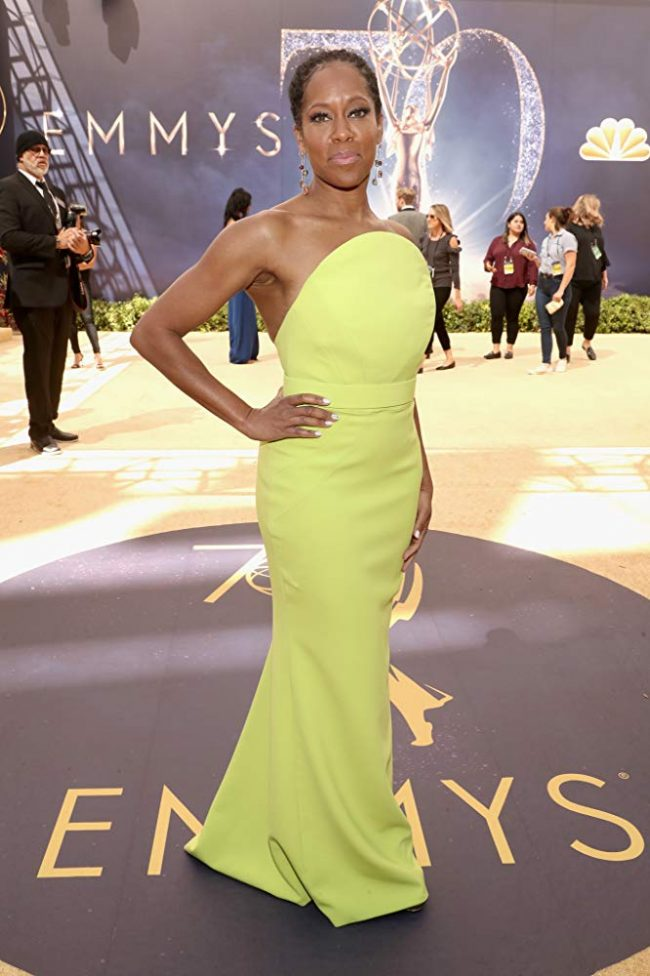 Regina King at the 2018 Emmy Awards
