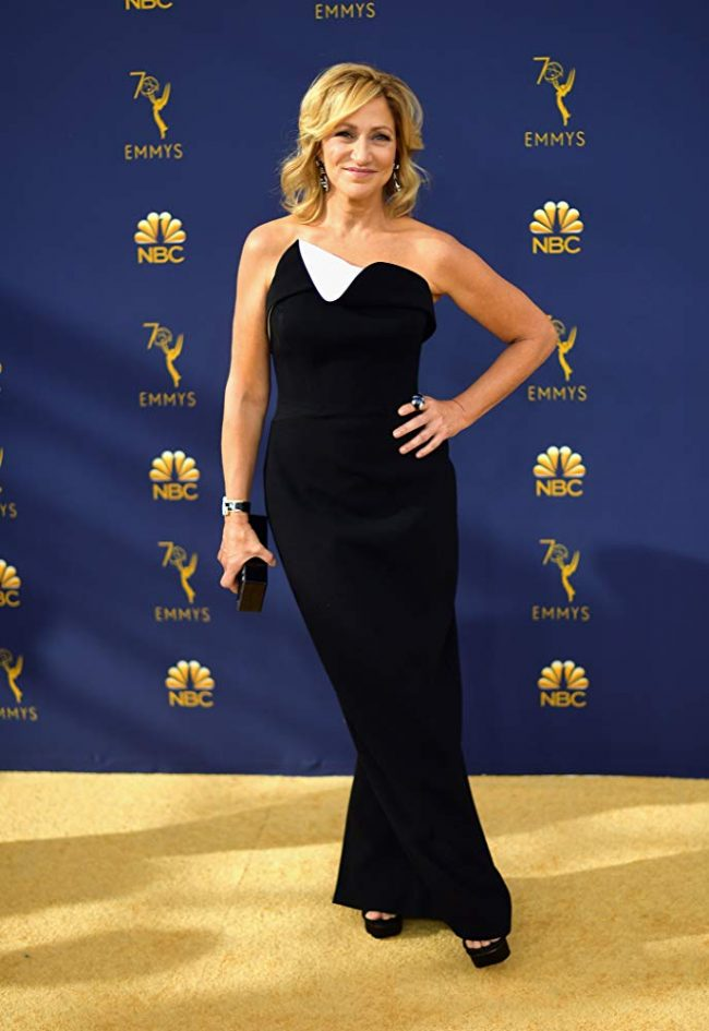 Edie Falco at the 2018 Emmy Awards