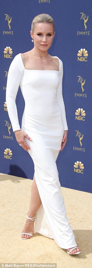 Kristen Bell at 2018 Emmy Awards