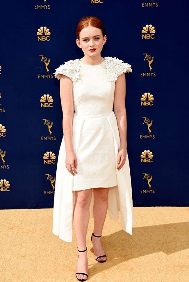 Sadie Sink at 2018 Emmy Awards