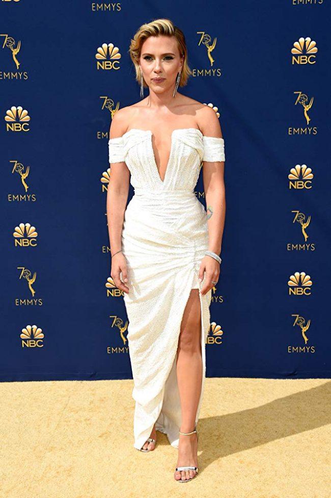 Scarlett Johansson at 2018 Emmy Awards