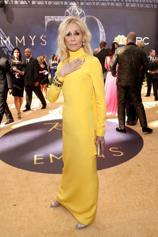Judith Light at the 2018 Emmy Awards