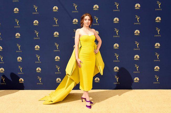 Kayli Carter at the 2018 Emmy Awards