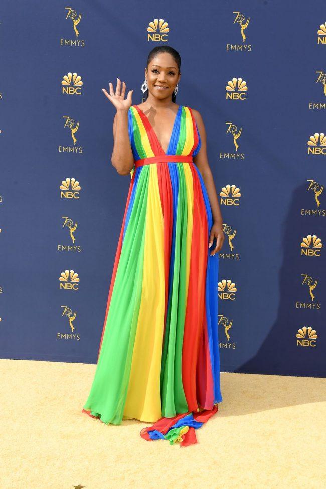 Tiffany Haddish at the 2018 Emmy Awards