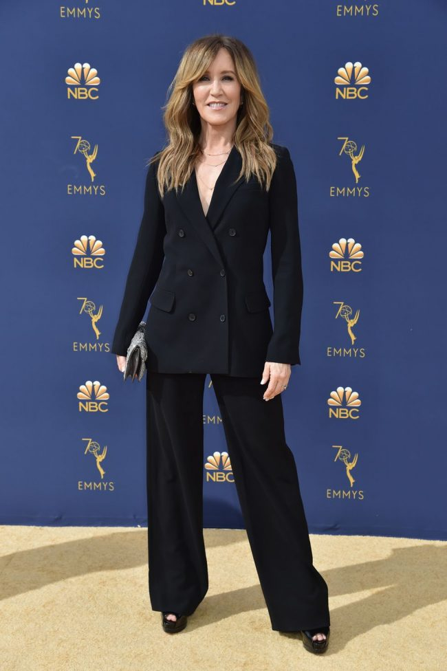 Felicity Huffman at 2018 Emmy Awards