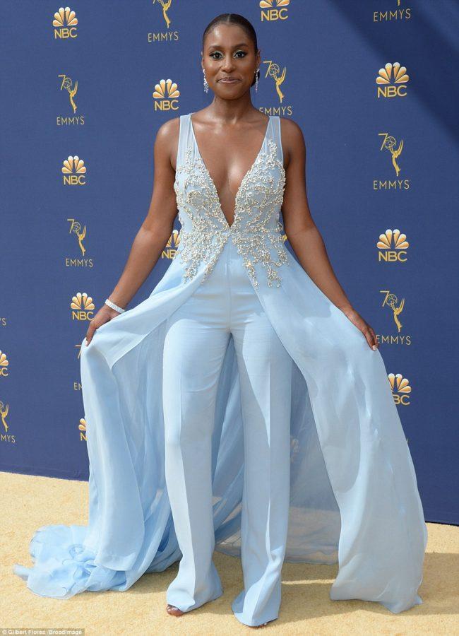 Issa Rae at 2018 Emmy Awards