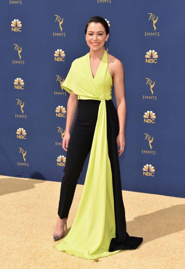 Tatiana Maslany at 2018 Emmy Awards