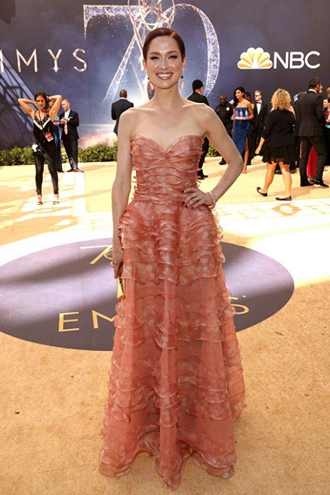 Ellie Kemper at 2018 Emmy Awards