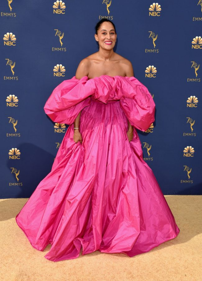 Tracee Ellis Ross at 2018 Emmy Awards