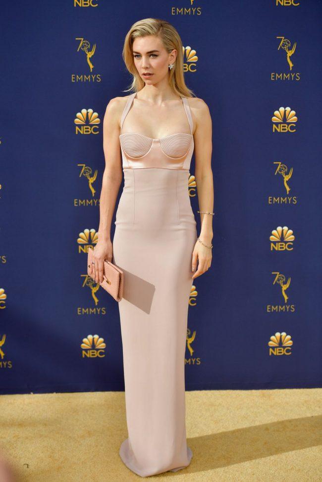 Vanessa Kirby at 2018 Emmy Awards