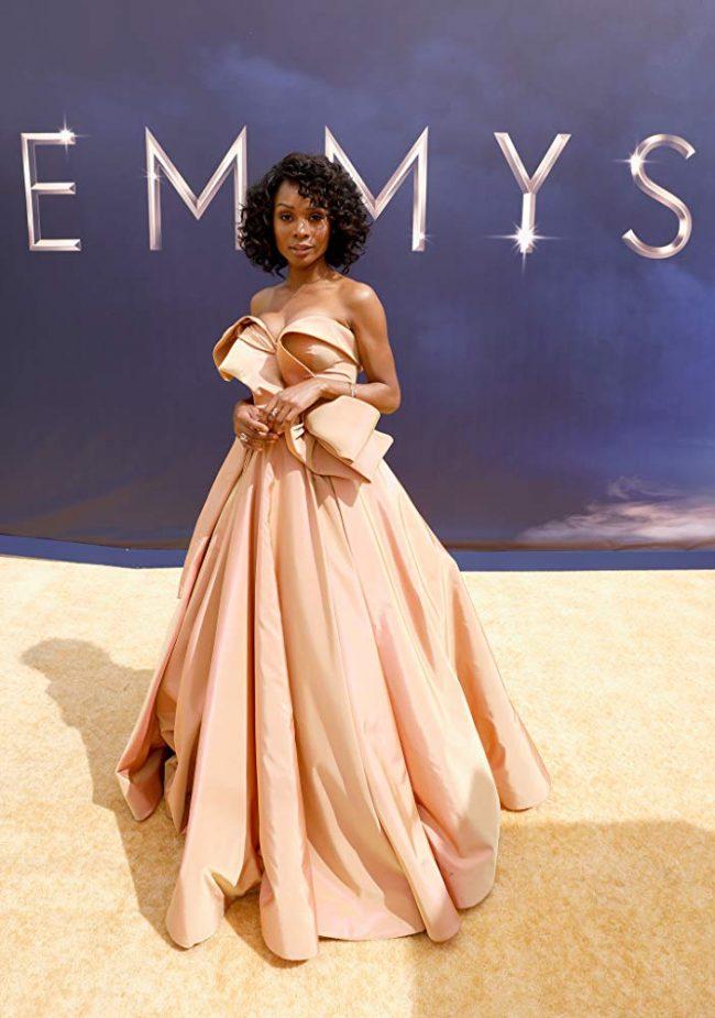Zuri Hall at 2018 Emmy Awards