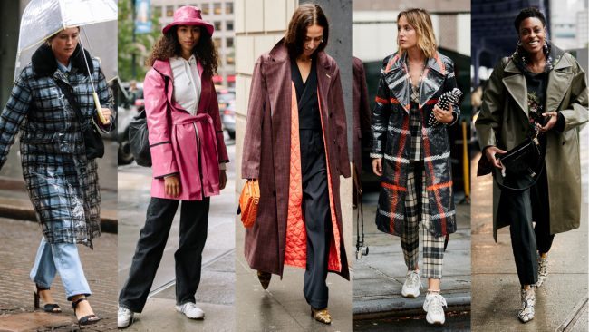 Rain or shine the fashion doesn't stop at NYFW Spring/Summer 2019