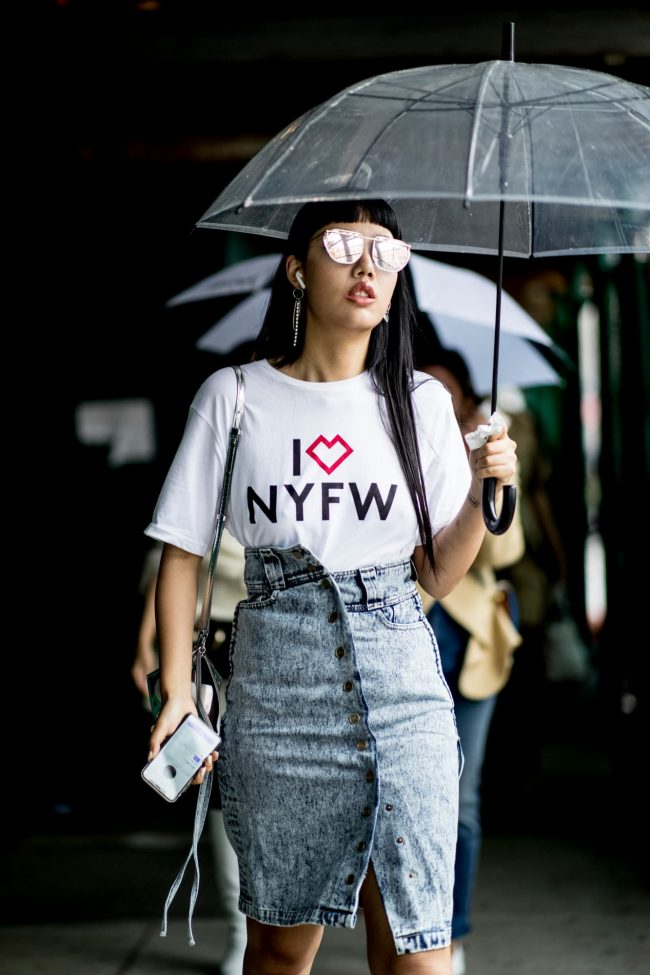 Streetstyle from NYFW Spring/Summer 2019