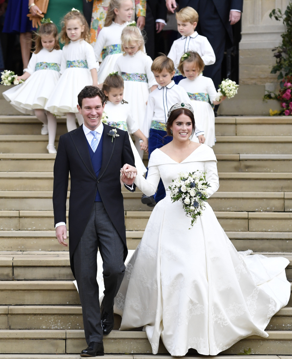 Princess Eugenie wedding party