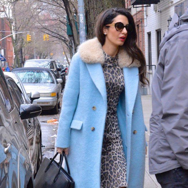 styleinspo style influencers like Amal Clooney