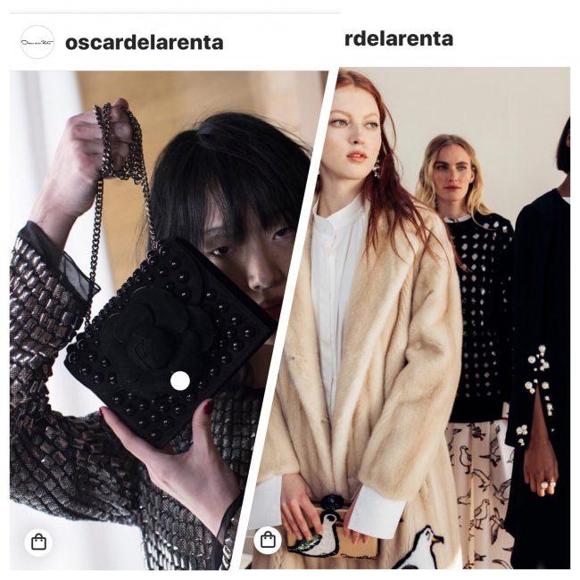 Online Luxury Shopping Oscar de la renta