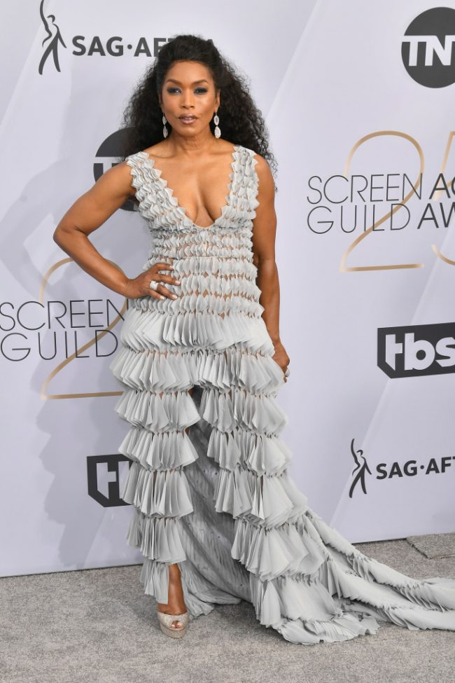 Angela Bassett at 2019 SAG Awards