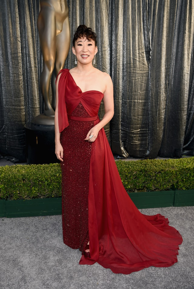 Sandra Oh at 2019 SAG Awards