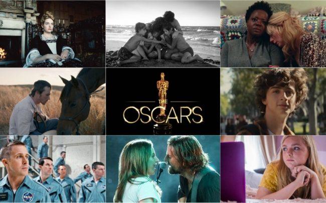 2019 Oscars top film contenders
