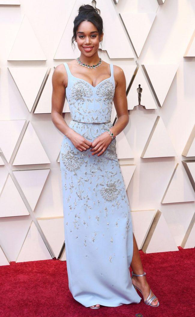 Laura Harrier at 2019 Oscars
