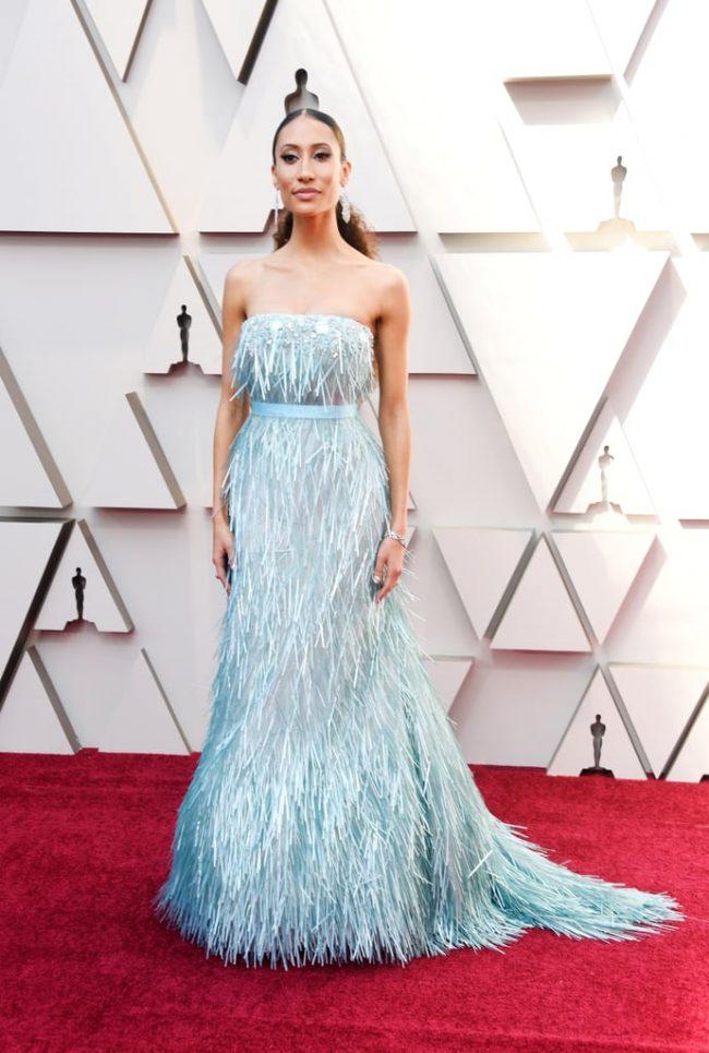 Elaine Welteroth at 2019 Oscars