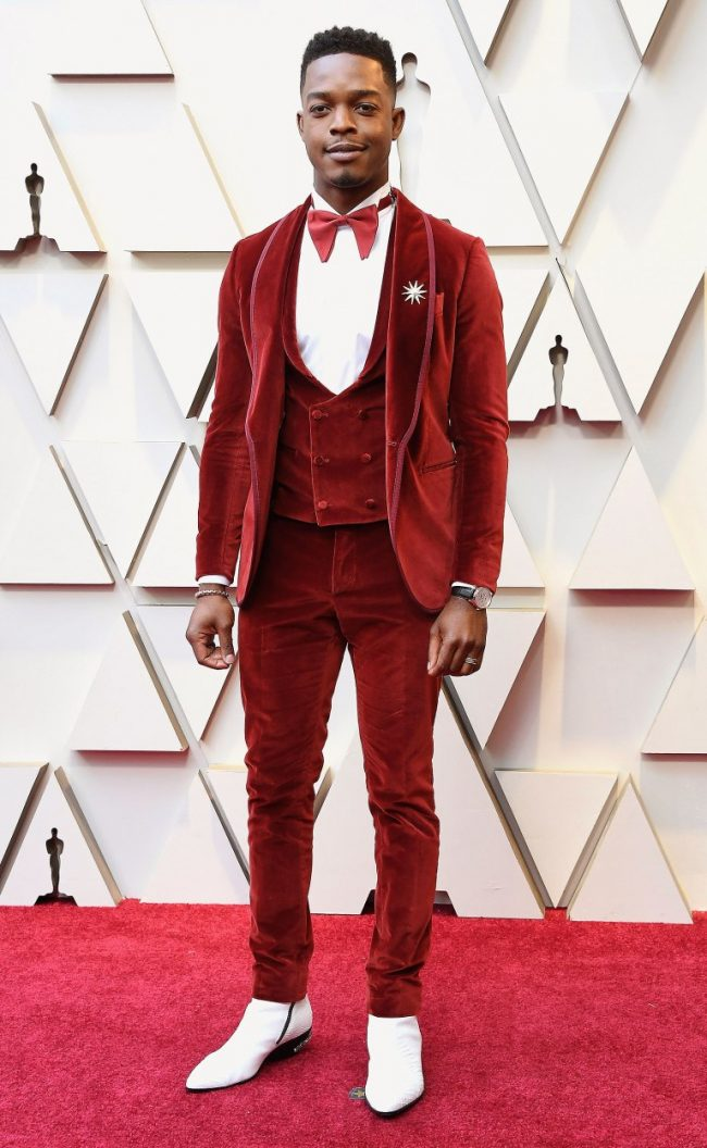 Stephan James at 2019 Oscars