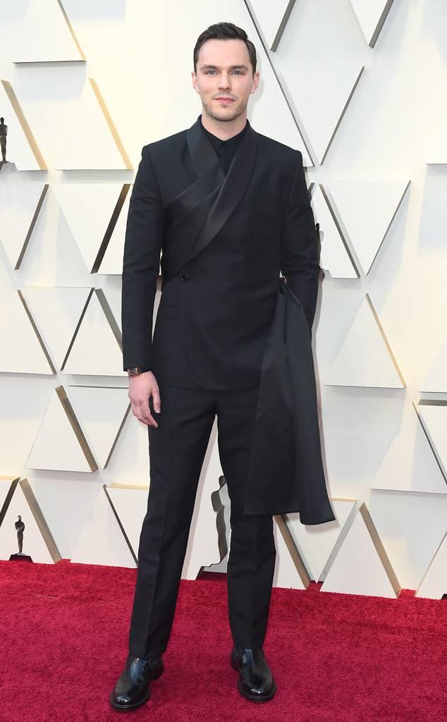 Nicholas Hoult at 2019 Oscars