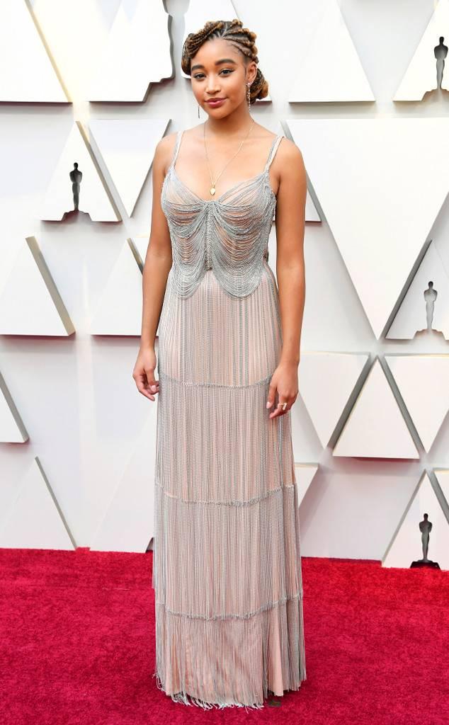 Amandla Stenberg at 2019 Oscars