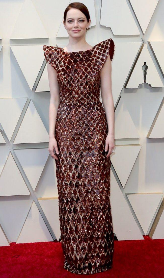 Emma Stone at 2019 Oscars