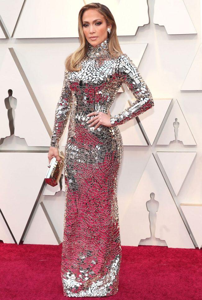 Jennifer Lopez at 2019 Oscars