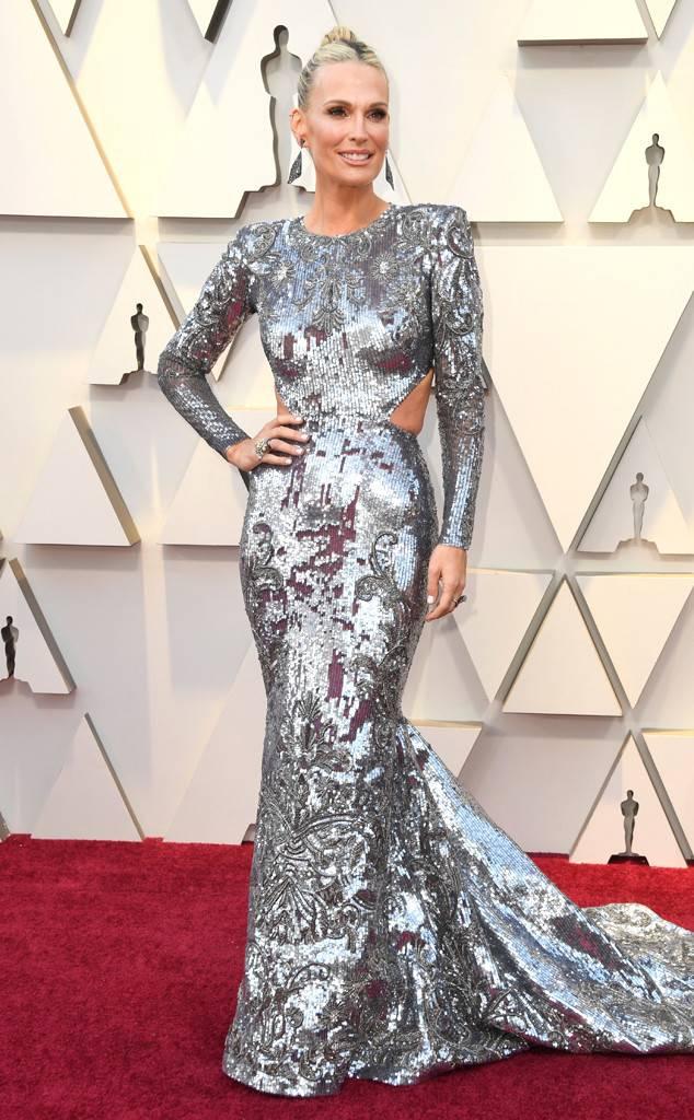 Molly Sims at 2019 Oscars